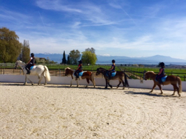 horse riding lessons for kids in gland
